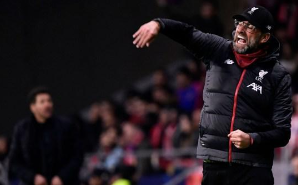 克洛普抨击马德里竞技并激起公众愤